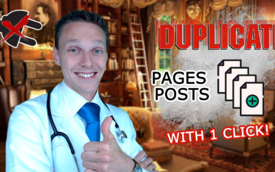 Duplicate Pages  Posts With 1 Click WITHOUT a Plugin