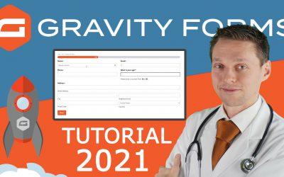 Gravity Forms Tutorial 2021 | Create a Simple, a Conditional Logic & Crazy Form! reCaptcha & CSS