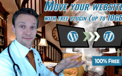 Move WordPress Site (up to 10GB!) With a FREE Plugin – or do it Manual