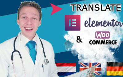 Translate Elementor – Multilangual WordPress Site With WPML